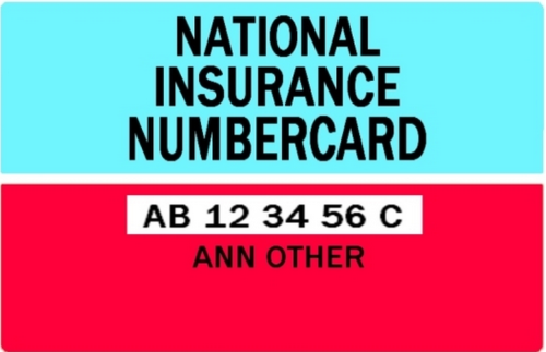 National Insurance Number (NIN): il codice fiscale made in Uk