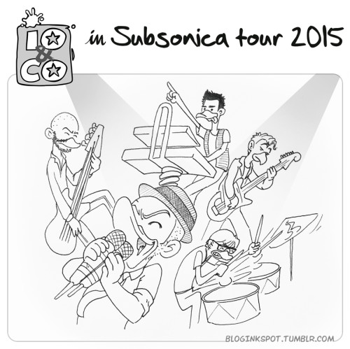 Io & Co. in Subsonica Tour 2015