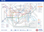 new tube map 2016