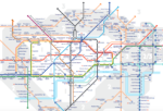 walking tube map