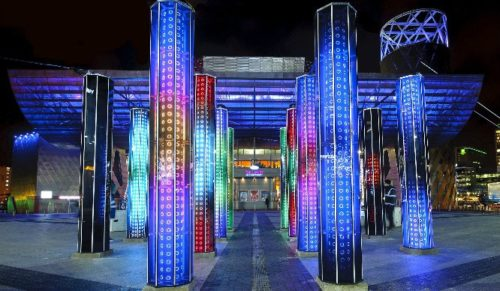 Lo spettacolare Winter Lights Festival 2017 arriva a Canary Wharf
