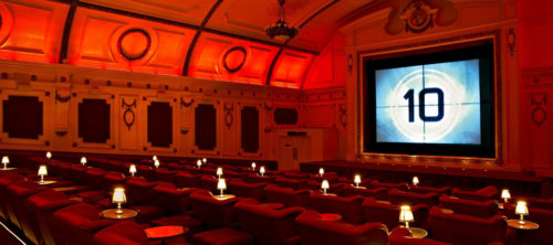 Electric Cinema a Londra, dove si respira il fascino della classica e intramontabile Hollywood