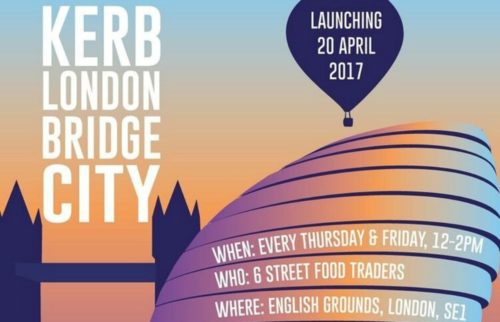Kerb: un nuovo mercatino di street food apre a London Bridge!