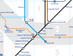 stockwell to vauxhall